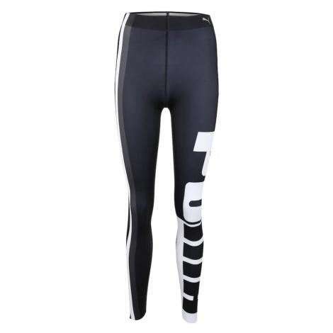 PUMA Spodnie sportowe 'Varsity' czarny / biały