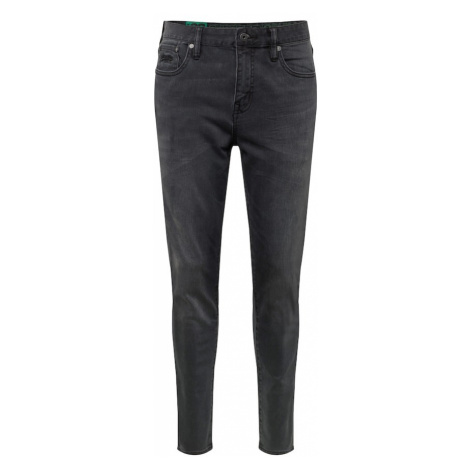 Superdry Jeansy 'Tyler Slim' czarny denim