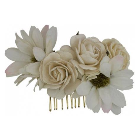 LILY AND ROSE Biżuteria do włosów 'Petite Rosie' kremowy / różany
