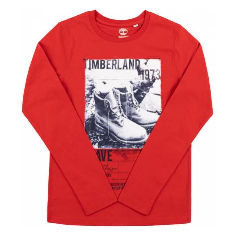 Timberland Bluzka T25Q09 Czerwony Regular Fit