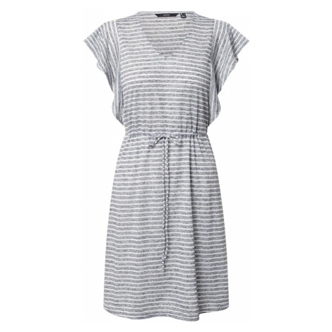 VERO MODA Sukienka 'VMRAKEL' niebieski / biały