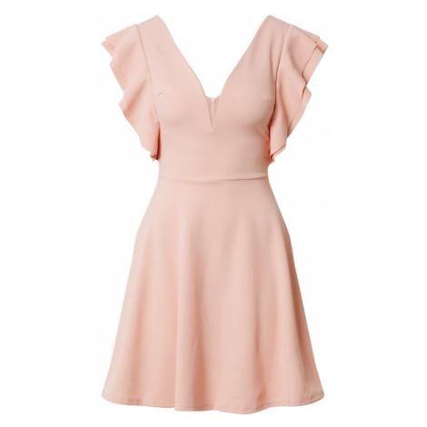 WAL G. Sukienka różowy pudrowy