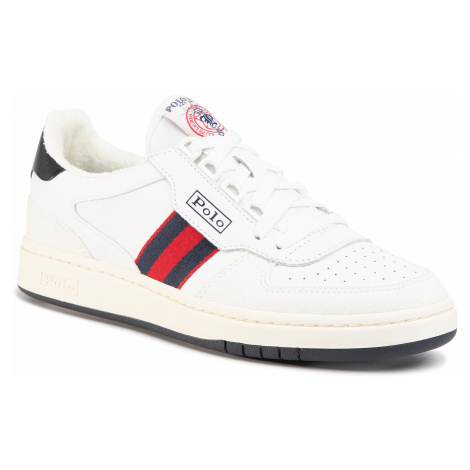 Sneakersy POLO RALPH LAUREN - Court 809784401001 White/Newport Nvy/Rl2000 Red