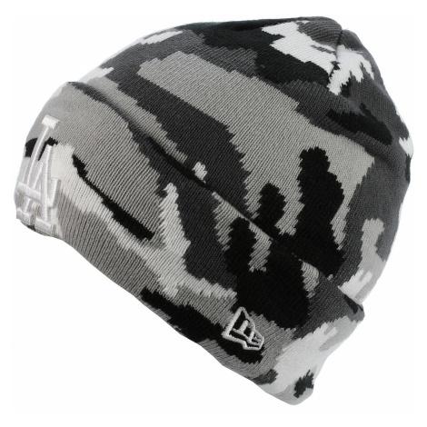 czapka New Era Essential Cuff MLB Los Angeles Dodgers - Urban Camo/White