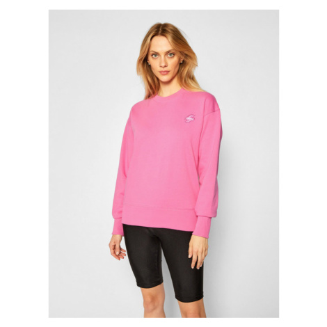 Superdry Bluza Collective Crew W2010332A Różowy Regular Fit