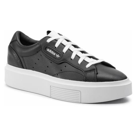 Buty adidas - Sleek Super W EE4519 Cblack/Cblack/Ftwwht