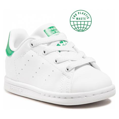 Buty adidas - Stan Smith El I FX7528 Ftwwht/Ftwwht/Green