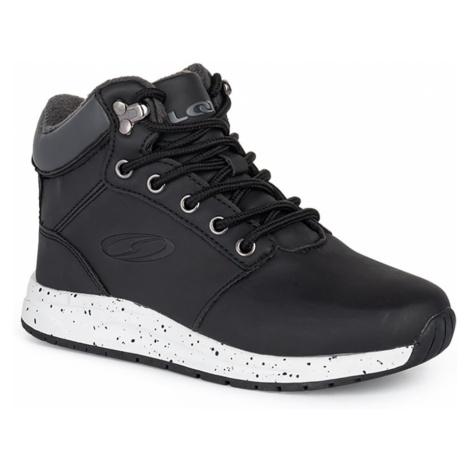 Czarne buty zimowe dla chłopców LOAP