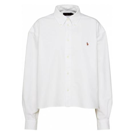 POLO RALPH LAUREN Bluzka 'LS WD CRP' biały