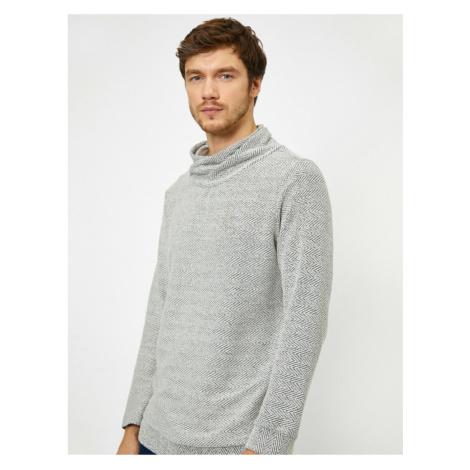 Koton Wzorzysty sweter