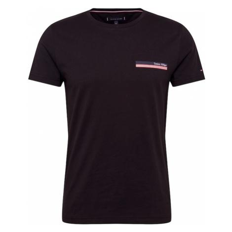 TOMMY HILFIGER Koszulka różowy / czarny