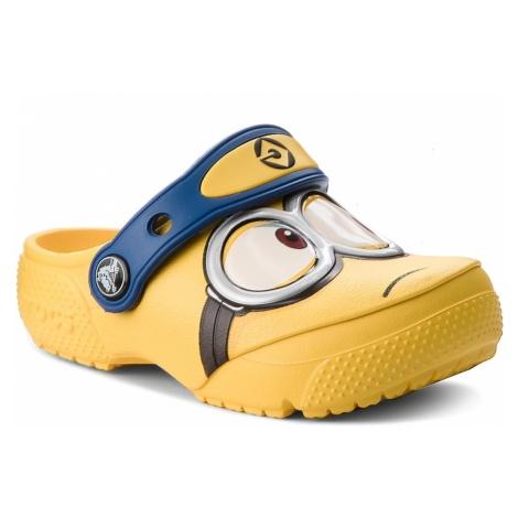 Klapki CROCS - Crocsfunlab Minions Clog 204113 Yellow