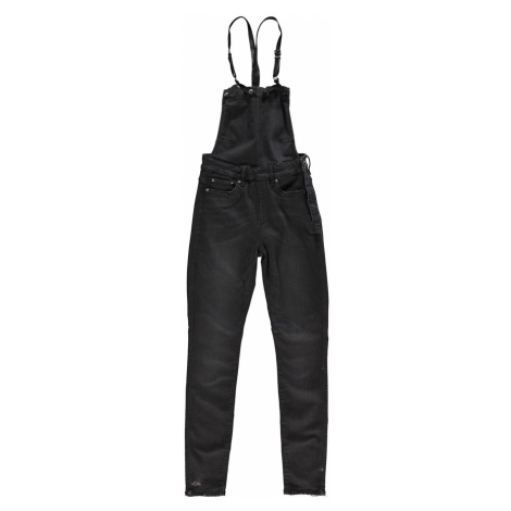 G Star 3301 High Waisted Skinny Overalls