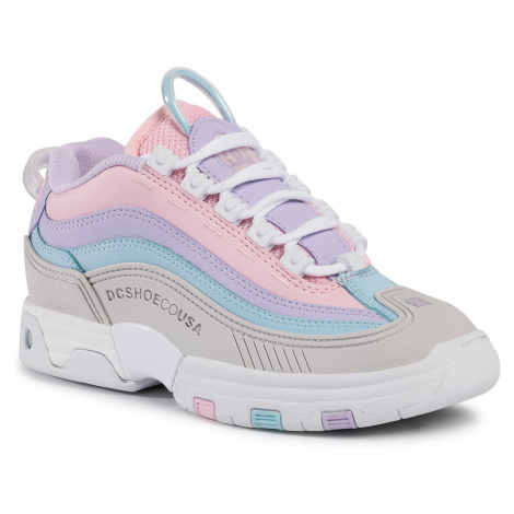 Sneakersy DC - Legacy Og ADJS200024 Grey/Pink(Gp2)