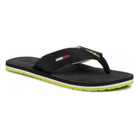Tommy Jeans Japonki Comfort Footbed Beach Sandal EM0EM00434 Czarny Tommy Hilfiger