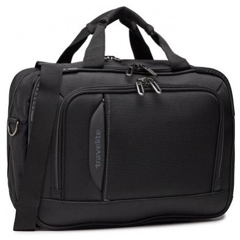 Travelite Torba na laptopa Crosslite Bordtasche 089504-01 Czarny