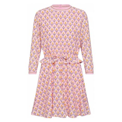 Rich & Royal Sukienka mieszane kolory / różowy pudrowy