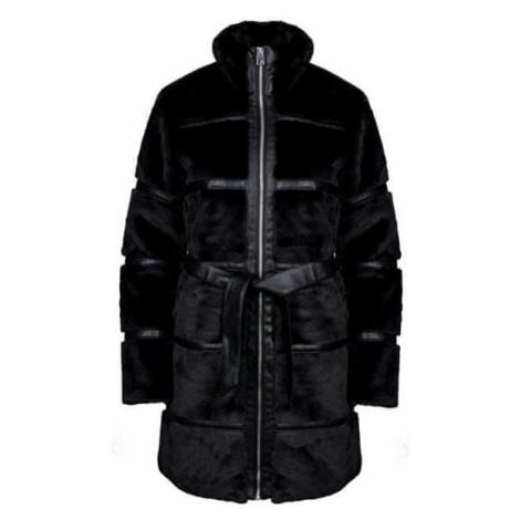 Vero Moda Damski płaszcz Ninja 3/4 Faux Fur Jack et Black