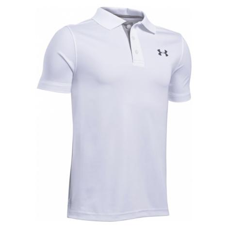 Under Armour Performance Polo Koszulka dziecięce Biały