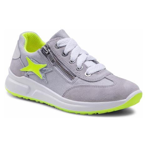 Sneakersy SUPERFIT - 1-006155-2500 S Hellgrau/Gelb