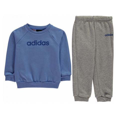Adidas Crew Neck Jogger Set Baby Boys