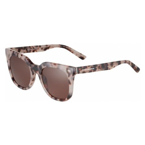 Kapten & Son Okulary przeciwsłoneczne 'Florence' brązowy / beżowy