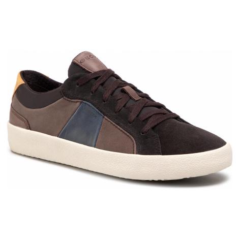 Sneakersy GEOX - U Warley B U926HB 0CL22 C6M6T Coffee