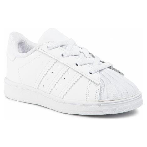 Buty adidas - Superstar El 1 EF5397 Fttwwht/Ftwwht/Ftwwht