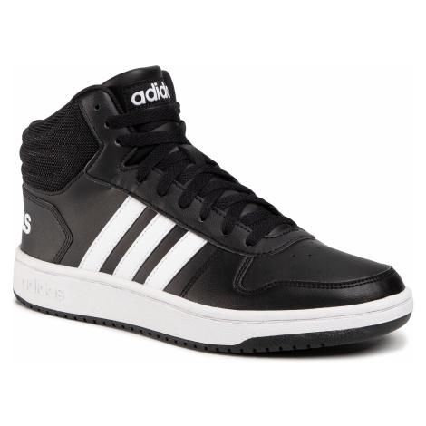 Buty adidas - Hoops 2.0 Mid BB7207 Black 1