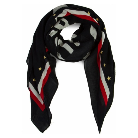 Chusta TOMMY HILFIGER - Bold Tommy Square AW0AW06595 901