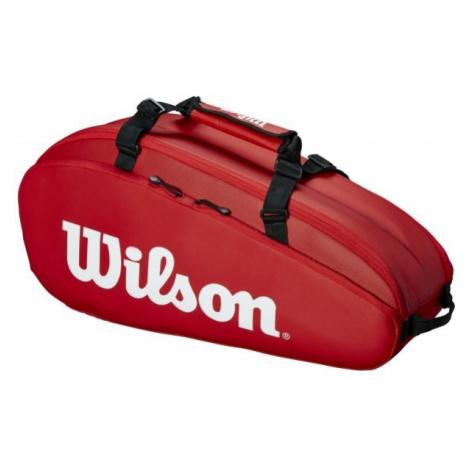 Wilson TOUR 2 COMP SMALL czerwony NS - Torba tenisowa