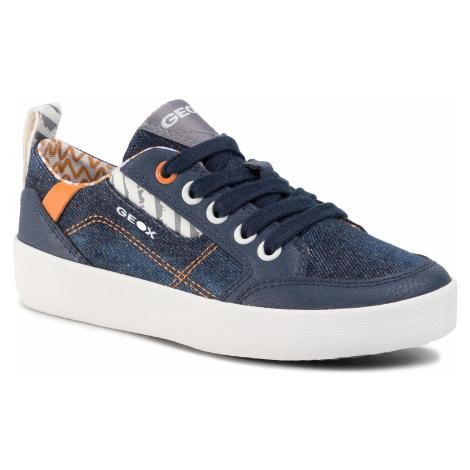 Sneakersy GEOX - J Kilwi B. B J02A7B 013BU C0057 M Blue/Orange