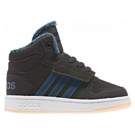 adidas HOOPS MID 2.0 I czarny 26 - Obuwie miejskie dziecięce