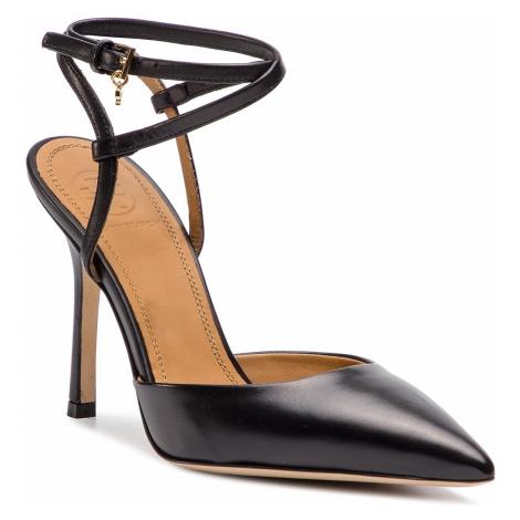 Sandały TORY BURCH - Penelope 100mm Ankle -Strap Pump 51945 Perfect Black 006