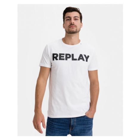 Replay Koszulka Biały