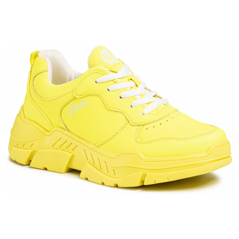 Sneakersy S.OLIVER - 5-23677-24 Neon Lime 699