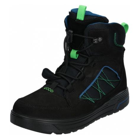 ECCO Śniegowce 'Urban Snowboarder BlackPoseidon' neonowa zieleń / czarny