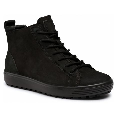 Botki ECCO - Soft 7 Tred W 45038352429 Black/Black/Black