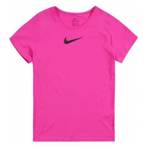 NIKE Koszulka funkcyjna różowy