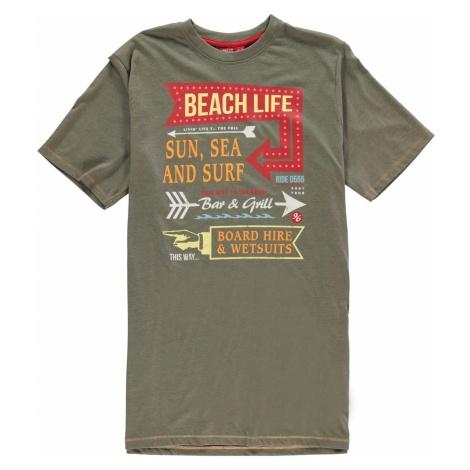 D555 Kennedy Beach T Shirt Mens