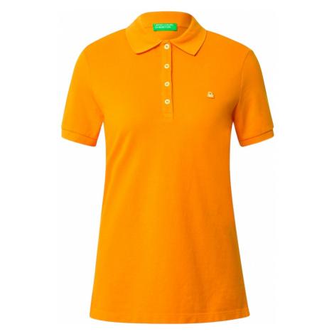 UNITED COLORS OF BENETTON Koszulka jasnopomarańczowy