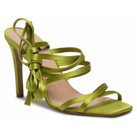 Sandały PINKO - Clematis 1 Sandalo. PE 21 BLKS1 1H20UE Y72D Lime T56
