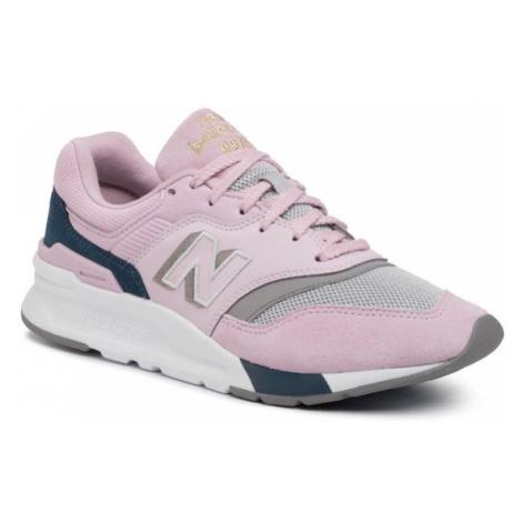 New Balance Sneakersy CW997HAK Różowy