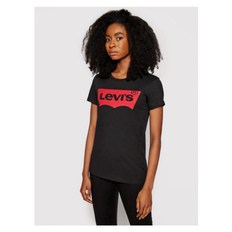 Levi's® T-Shirt The Perfect Graphic Tee 17369-0201 Czarny Regular Fit Levi´s
