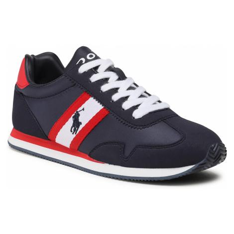 Sneakersy POLO RALPH LAUREN - Kelland RF102919 Navy/Wht/Red