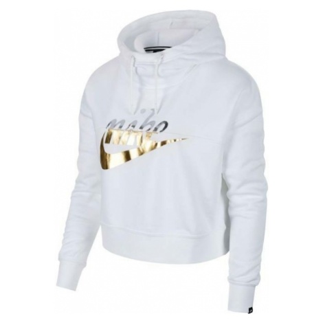 Nike NSW RALLY HOODIE METALLIC - Bluza z kapturem damska