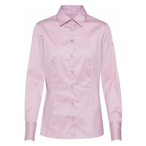 HUGO Bluzka 'The Fitted Shirt' różowy Hugo Boss