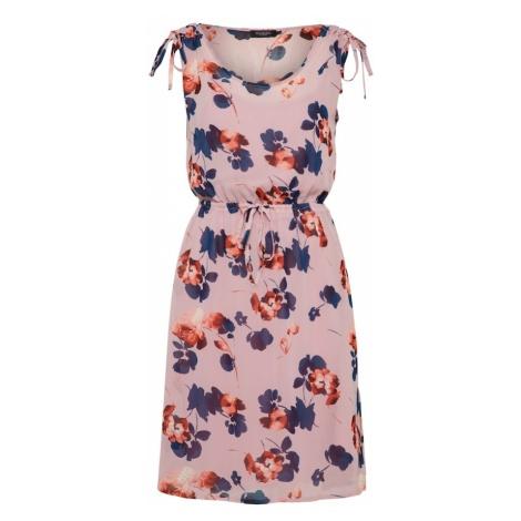 SOAKED IN LUXURY Letnia sukienka 'Silene' niebieski / różowy pudrowy