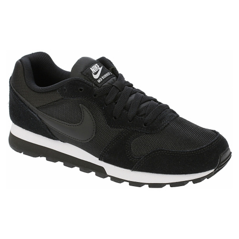 buty Nike MD Runner 2 - Black/Black/White
