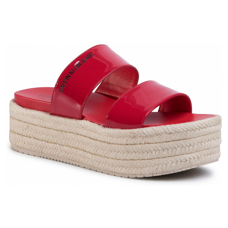 Espadryle CALVIN KLEIN JEANS - Frances B4R0544 Racing Red